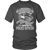 Police T-Shirt Design - Forever The Title!