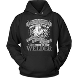 Welder T-Shirt Design - It Cannot Be Inherited