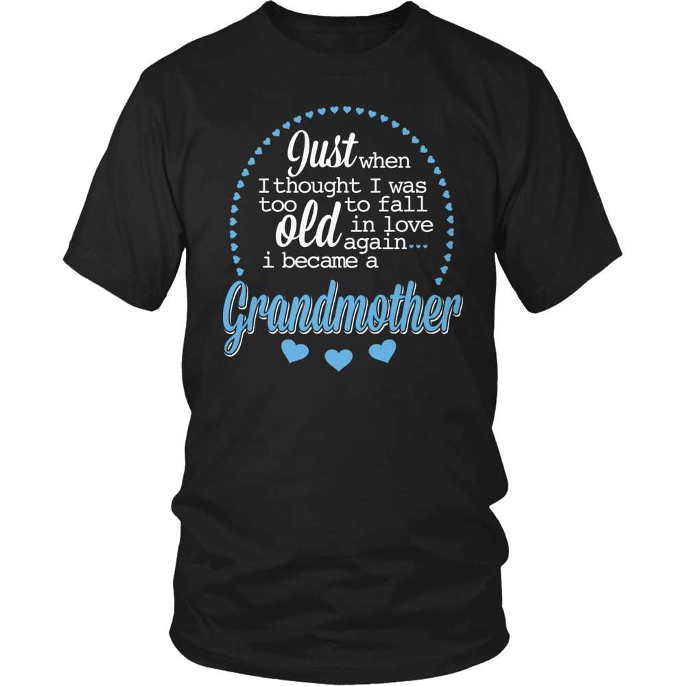 Grandparent T-Shirt Design - Just When I Thought