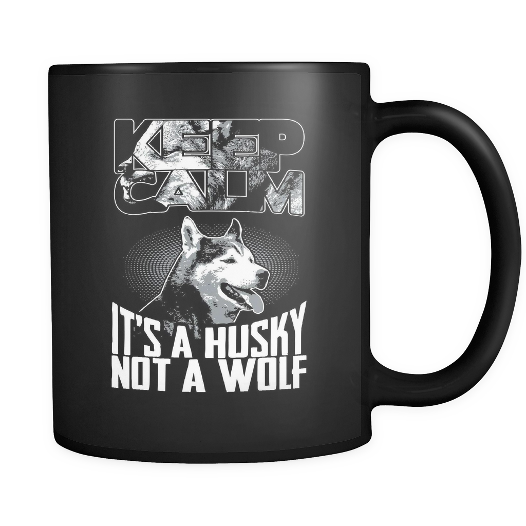 It's A Husky Not A Wolf - Luxury Mug
