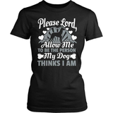 Dog T-Shirt Design - Please Lord
