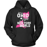 Ohio T-Shirt Design - Ohio Girl New York World