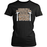 Carpenter T-Shirt Design - Need Carpenter Girl