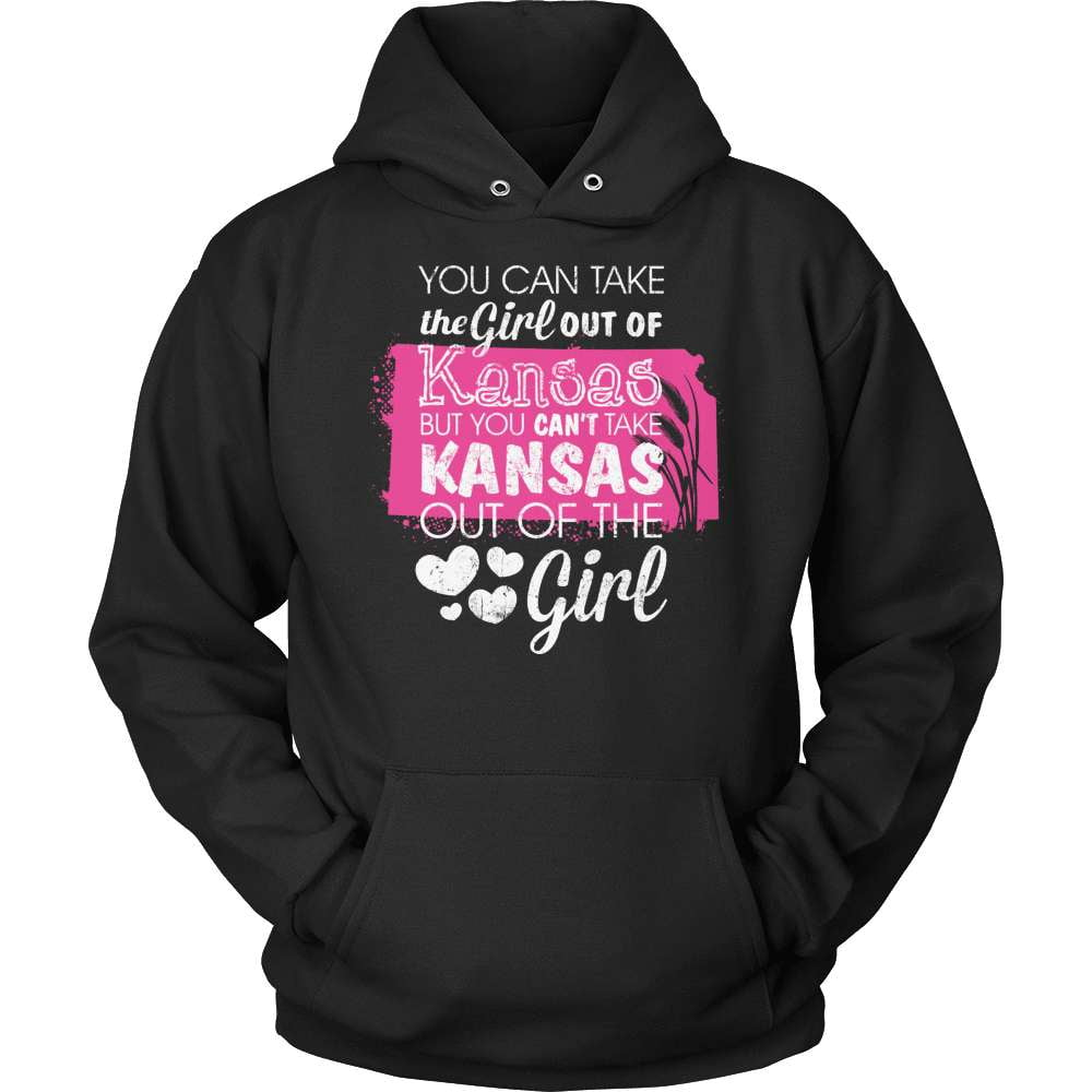 Kansas T-Shirt Design - Girl Out Of Kansas