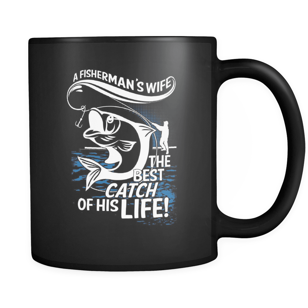 The Best Catch Of His Life! - Luxury Fishing Mug