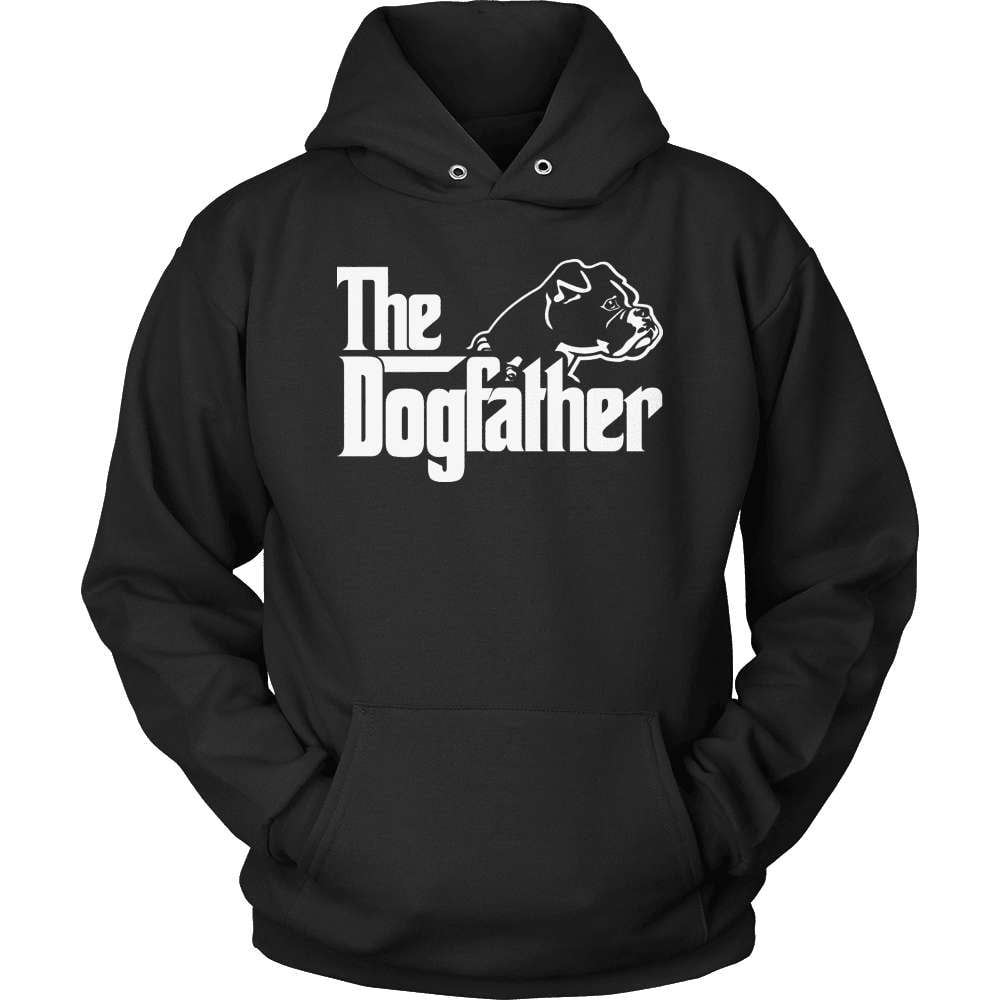 Boxer T-Shirt Design - The Dogfather