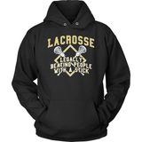 Lacrosse T-Shirt Design - Legally Beating People With A Stick