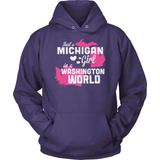 Michigan T-Shirt Design - Michigan Girl Washington World