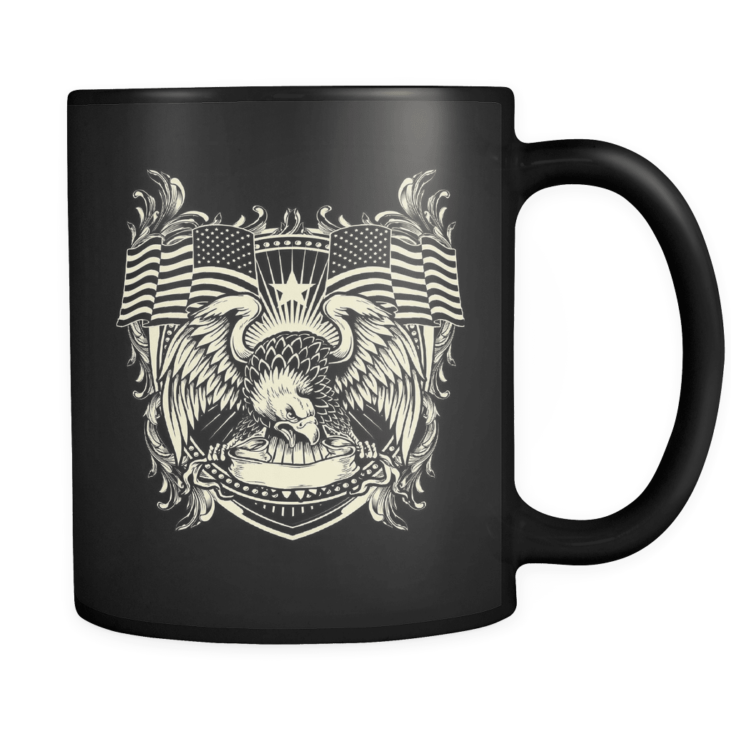The Brave's Homeland - Luxury Veteran Mug
