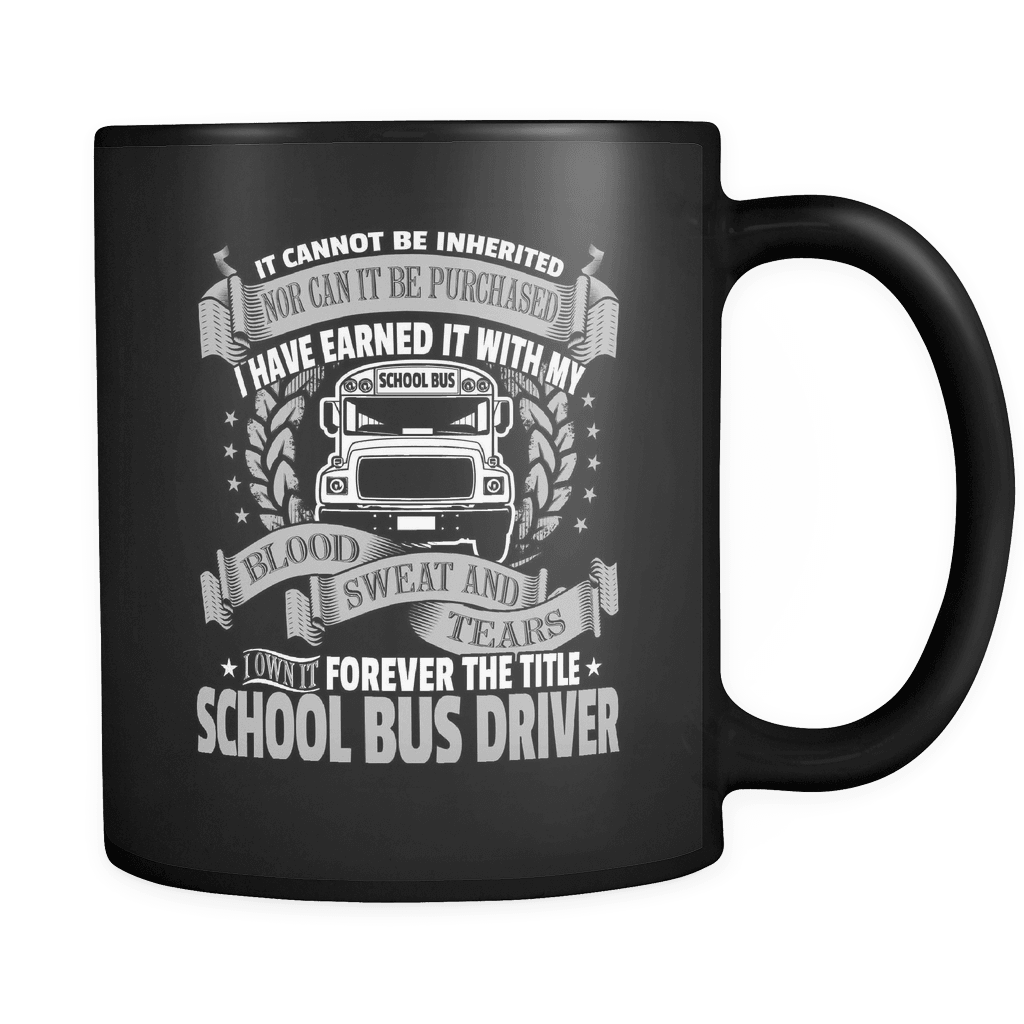 Forever My Title - Luxury School Bus Driver Mug