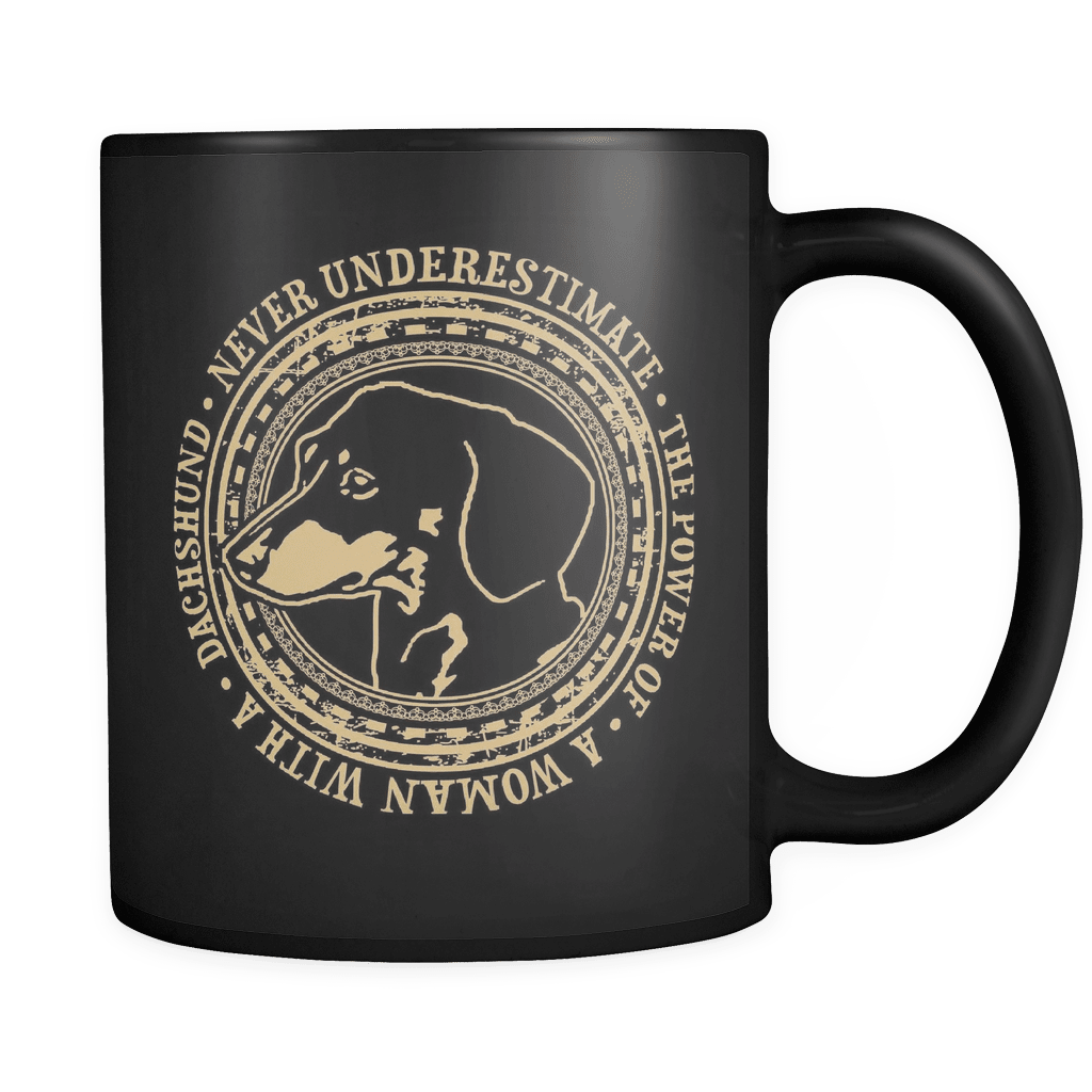 The Power  - Luxury Dachshund Mug