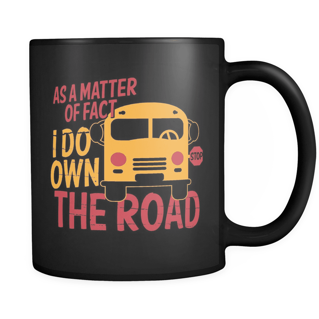 Own The Road - Luxury School Bus Driver Mug