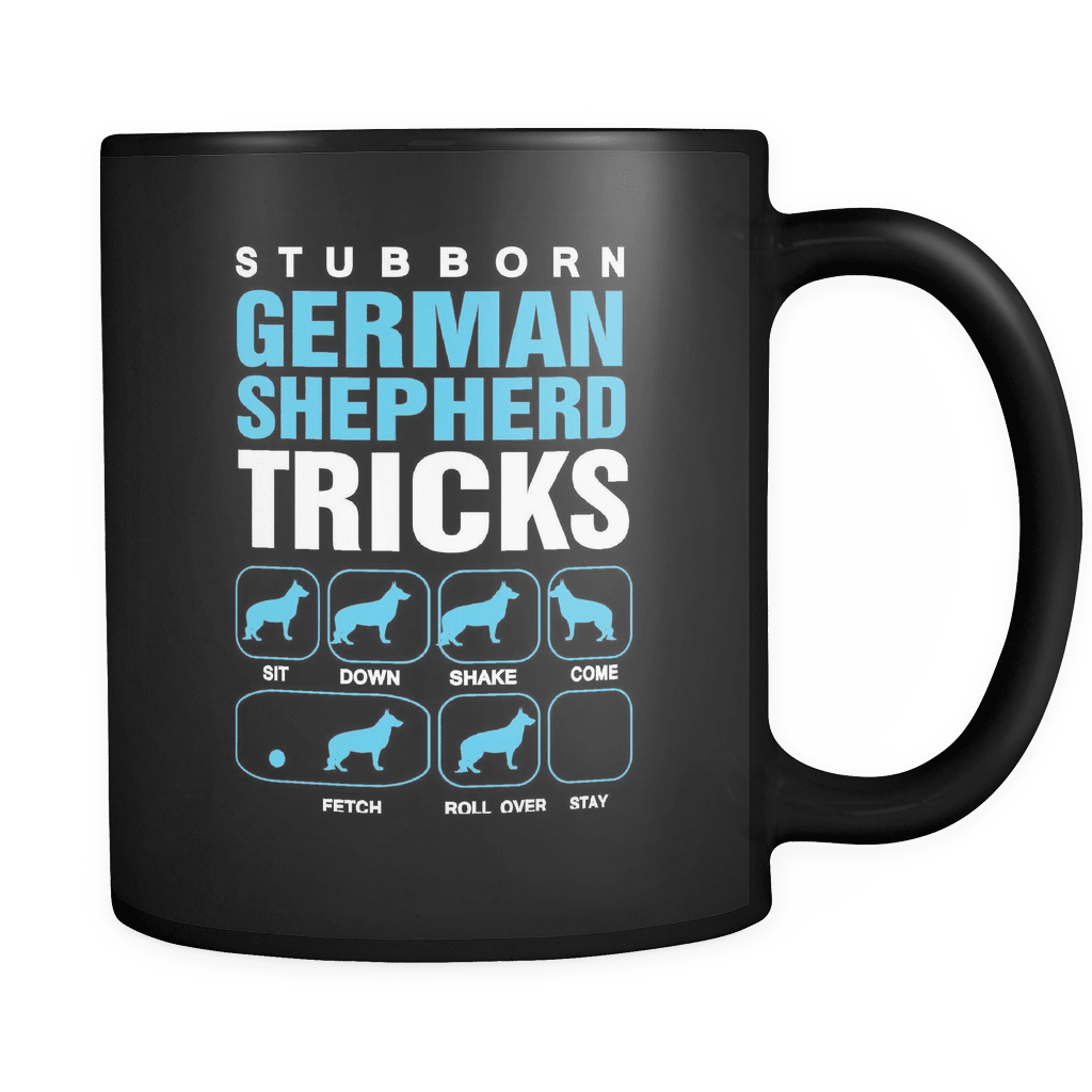 Stubborn GSD Tricks - Luxury German Shepherd Mug