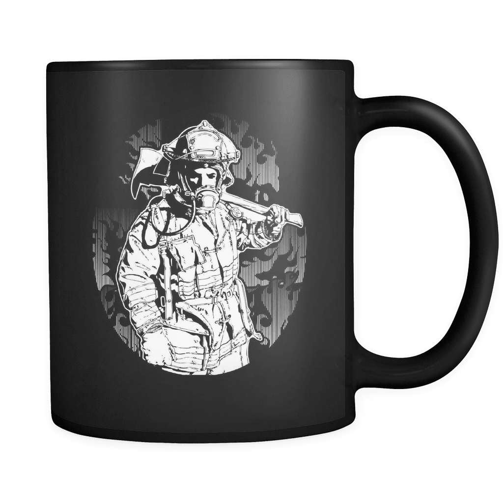 Fire Protector - Luxury Firefighter Mug