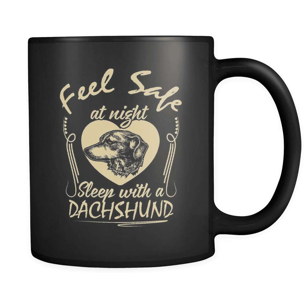 Feel Safe - Luxury Dachshund Mug