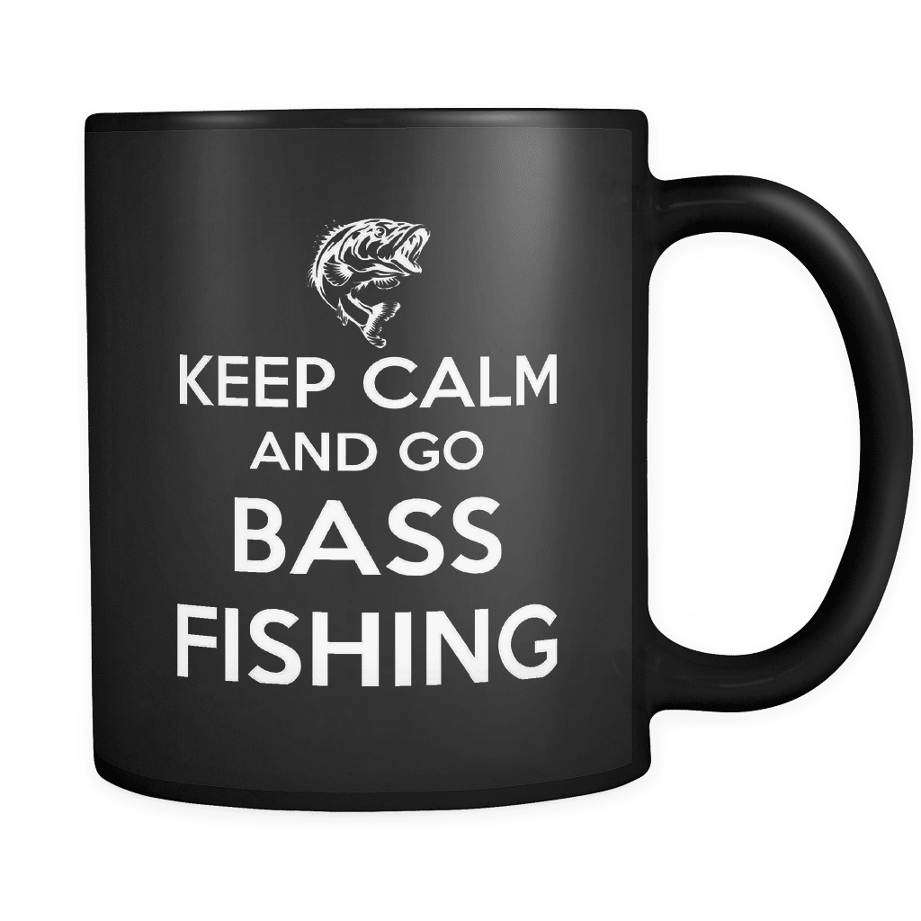Keep Calm Bass Fishing - Luxury Mug