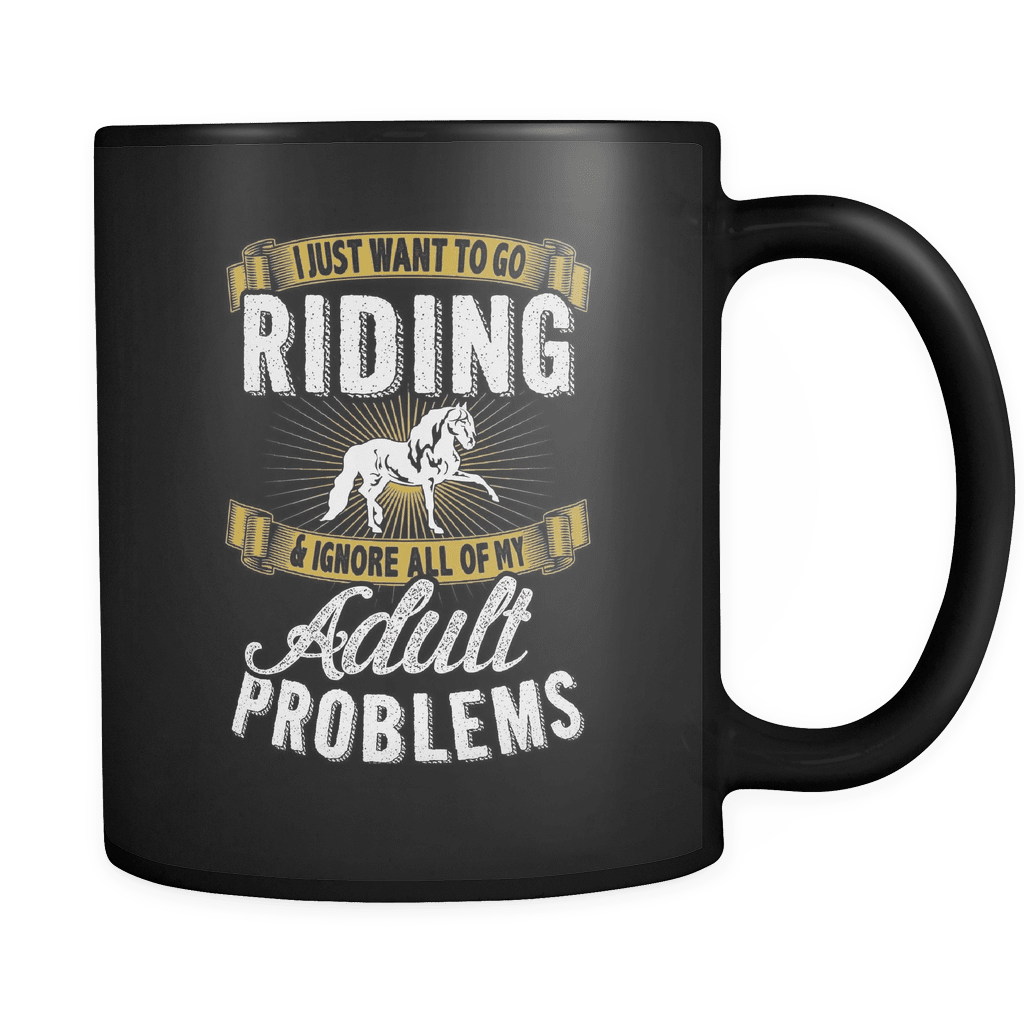 Want To Go Riding - Luxury Horse Mug