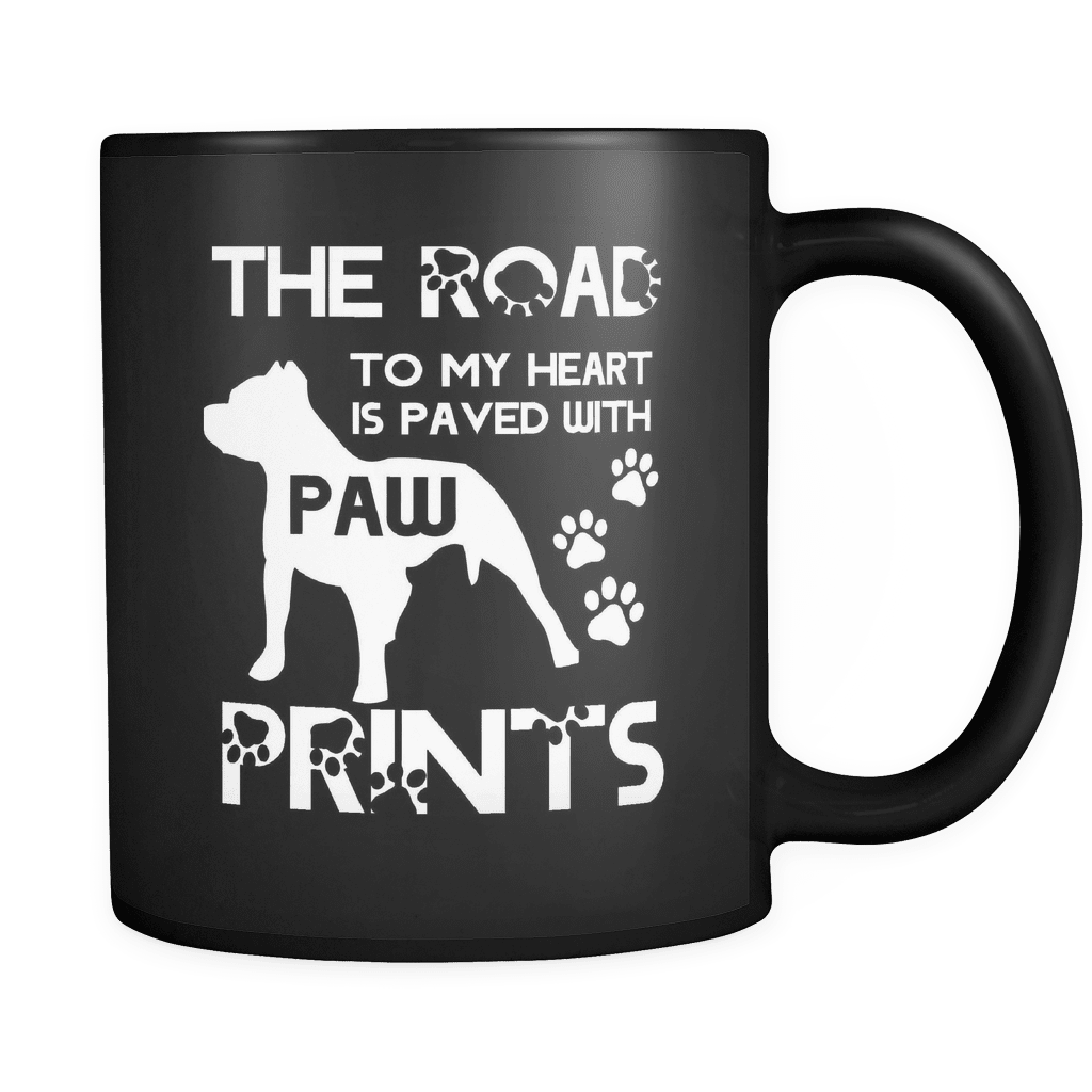 Paw Prints - Luxury Pit Bull Mug