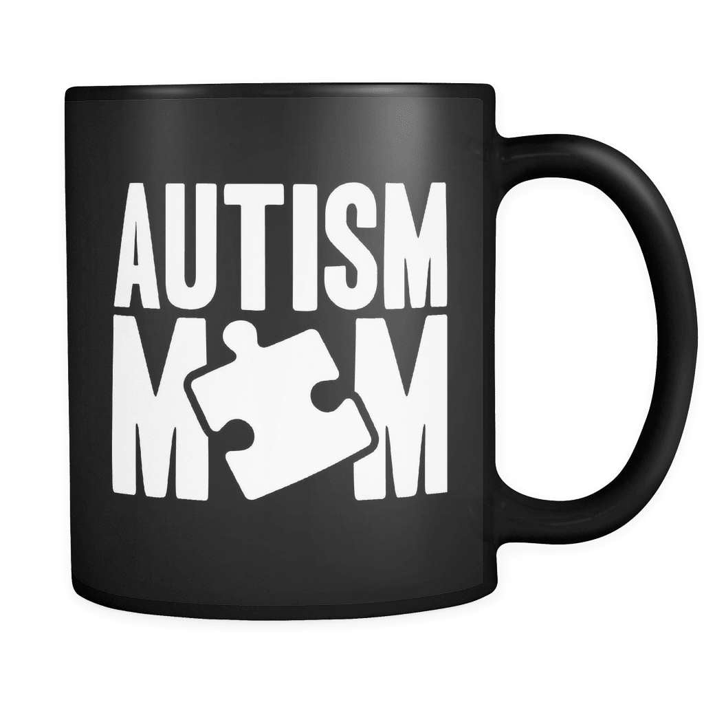 Autism Mom - Luxury Mug - snazzyshirtz.com