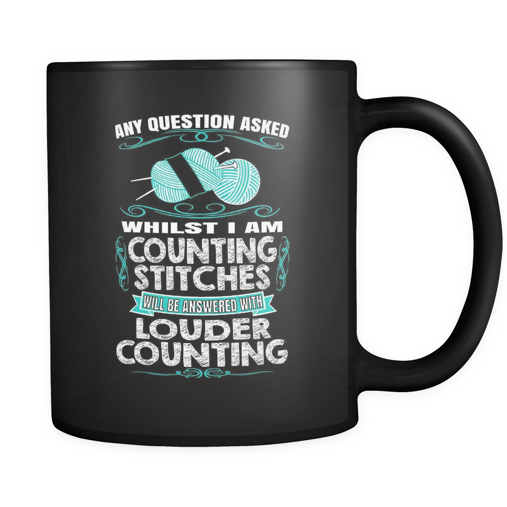 Louder Counting - Luxury Knitting Mug