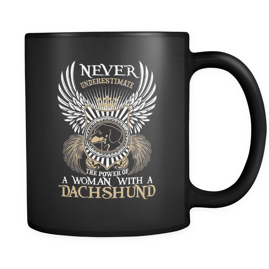 Never Underestimate - Luxury Dachshund Mug
