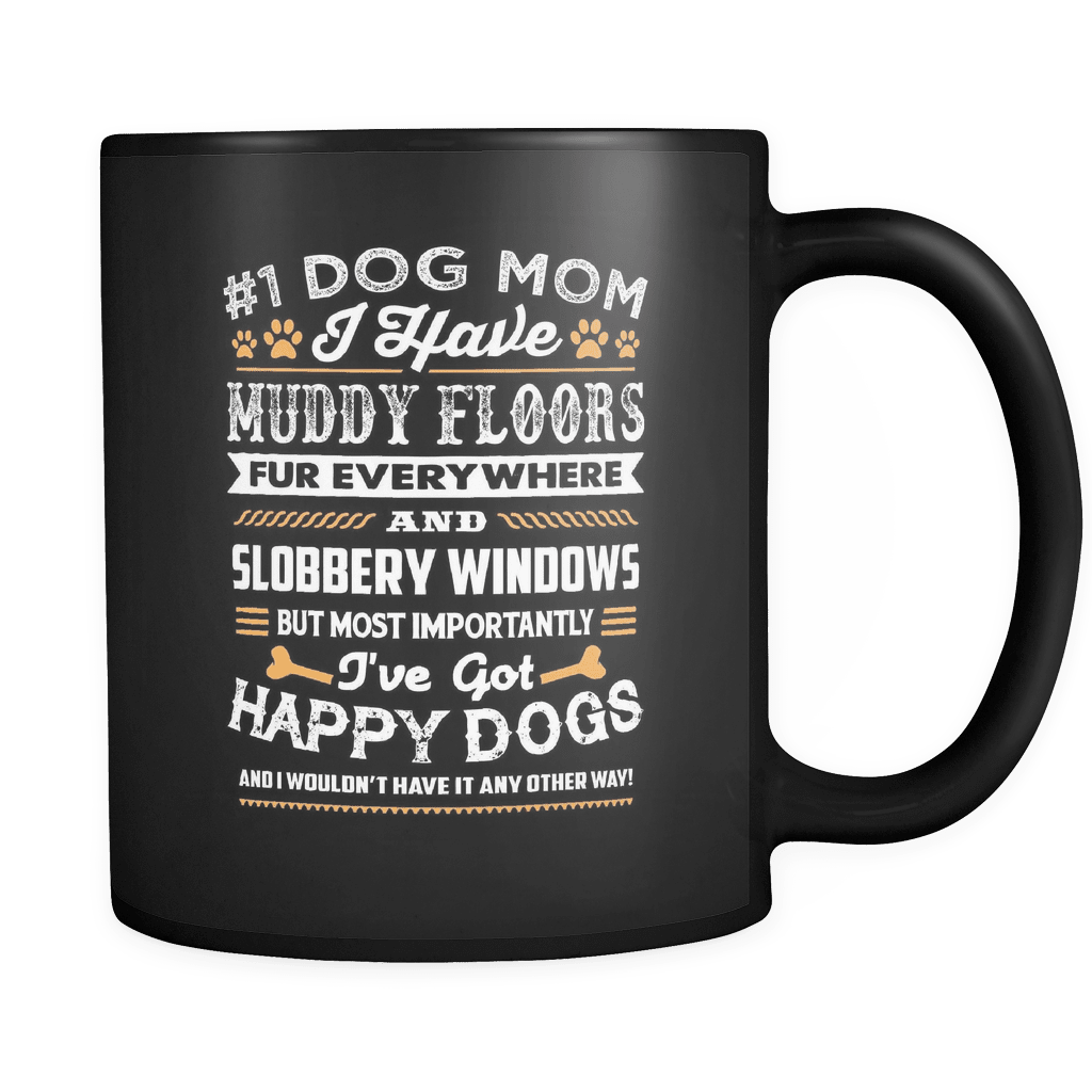 Muddy Floors - Luxury Dog Mug