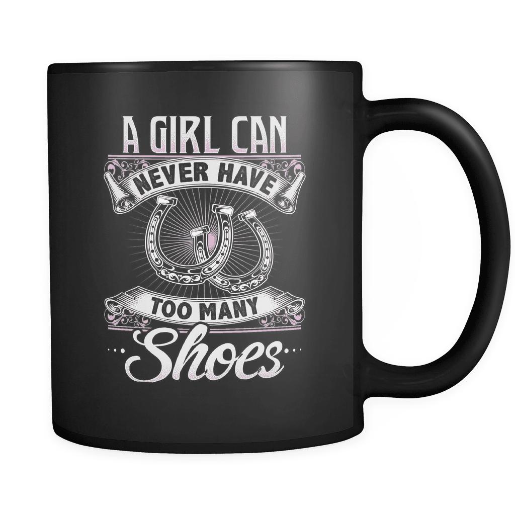 Too Many Shoes - Luxury Horse Mug