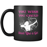 Shoot Like A Girl - Luxury Archery Mug