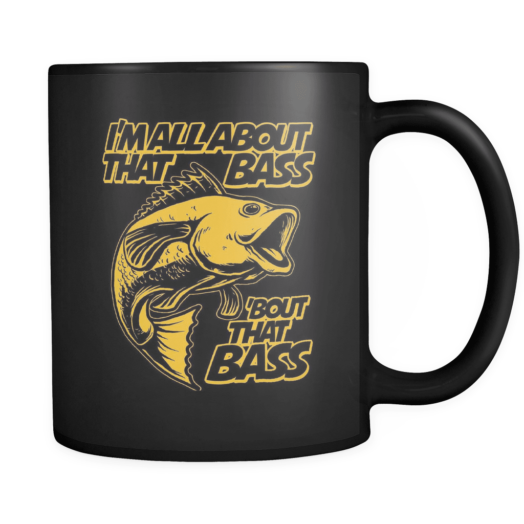 I'm All About That Bass! - Luxury Fishing Mug