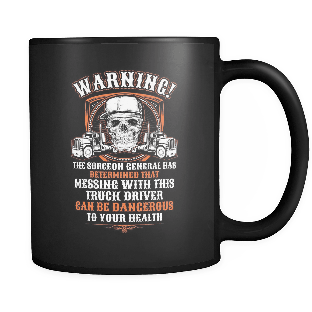 Trucker's Warning - Luxury Mug