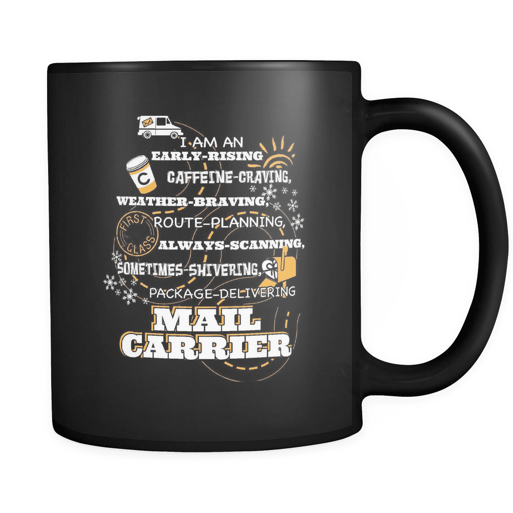Early Rising - Luxury Mail Carrier Mug