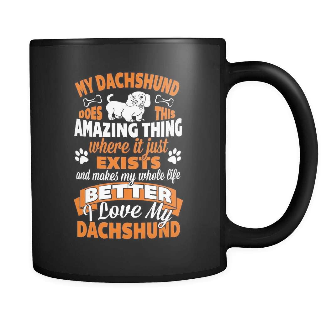 Amazing Dachshund - Luxury Mug