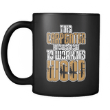 Work The Wood - Luxury Carpenter Mug