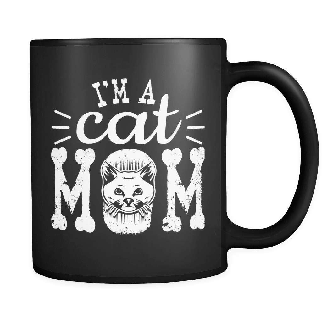 I'm A Cat Mom - Luxury Mug - snazzyshirtz.com
