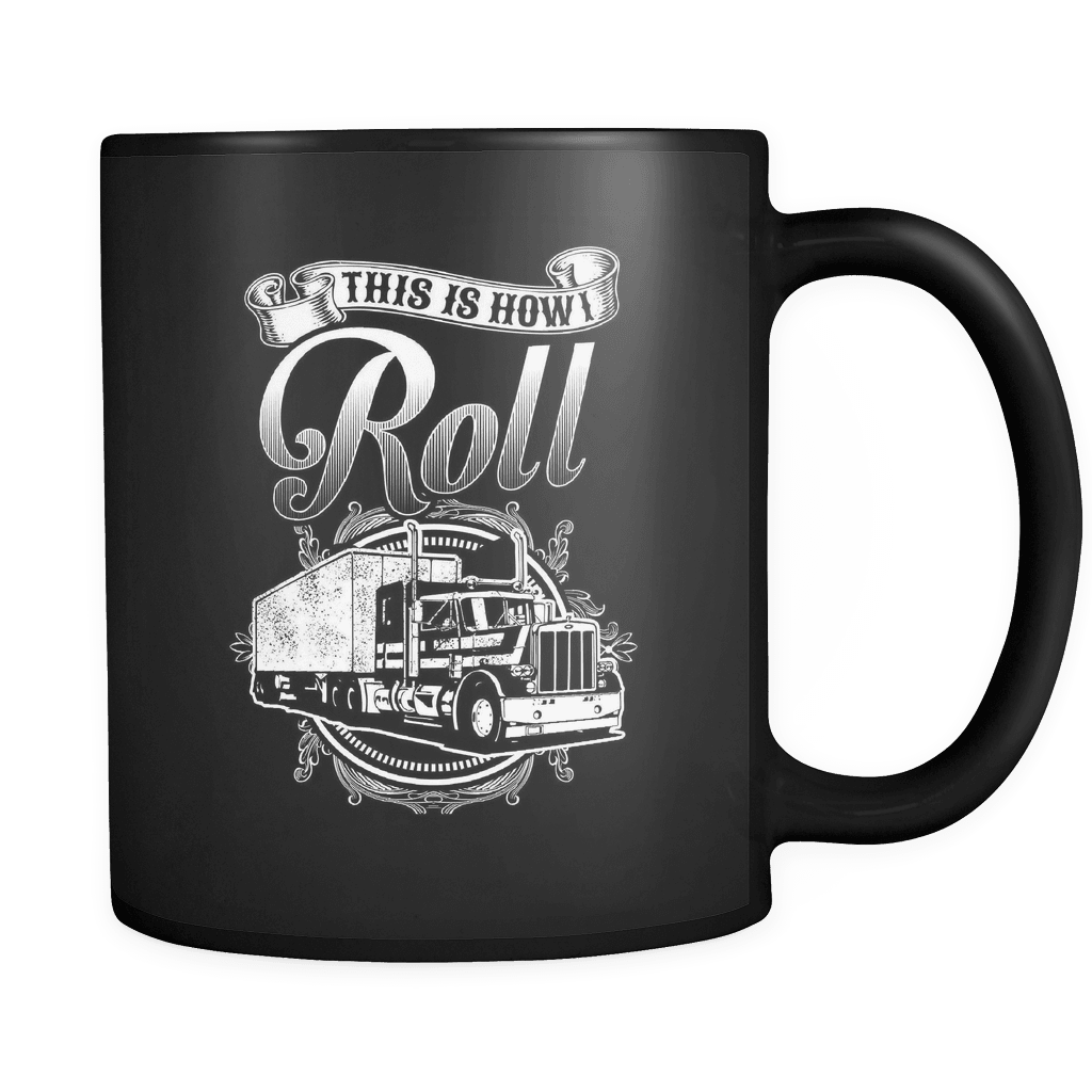 Truckers Roll - Luxury Mug