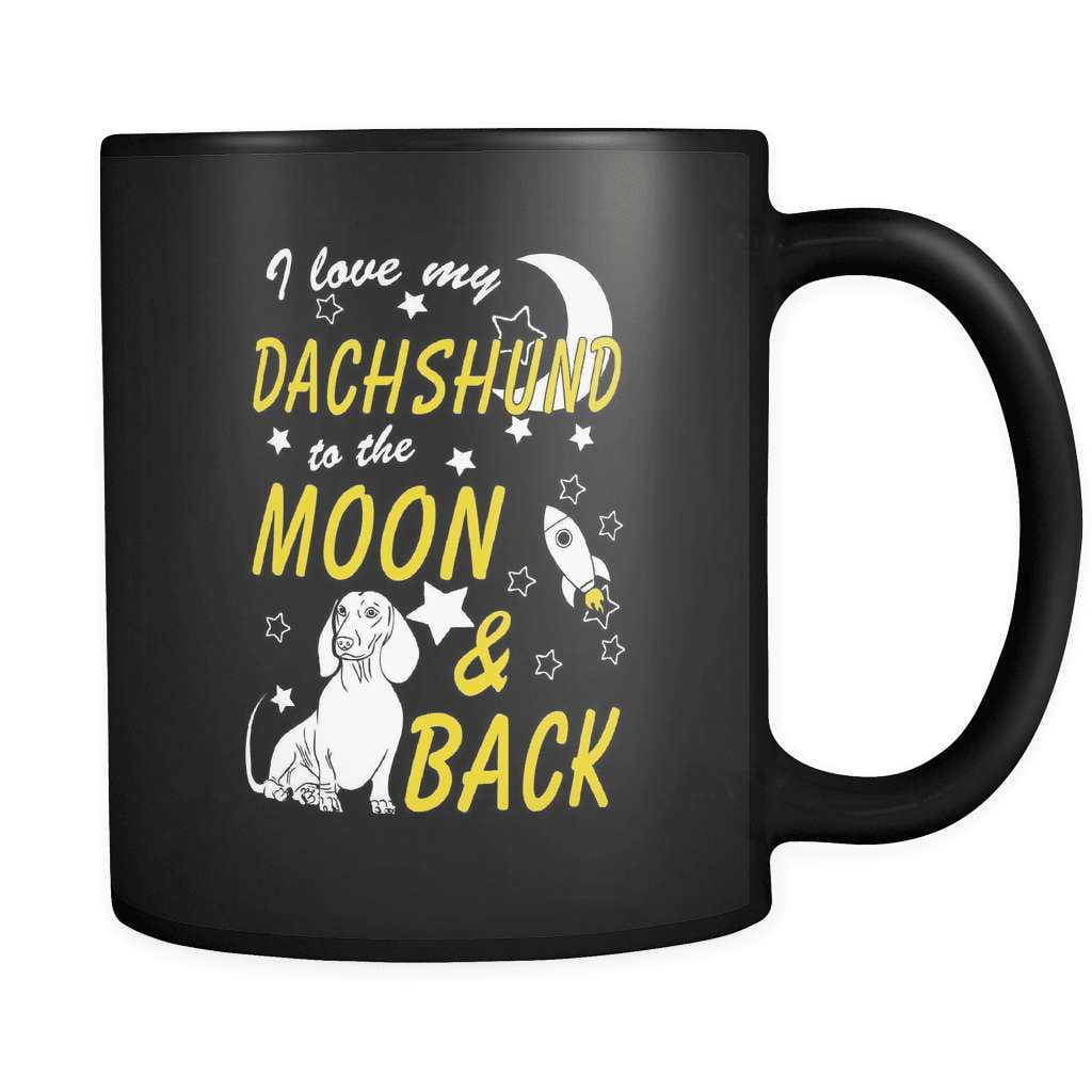 I Love My Dachshund This Much - Luxury Mug - snazzyshirtz.com