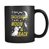 I Love My Dachshund This Much - Luxury Mug