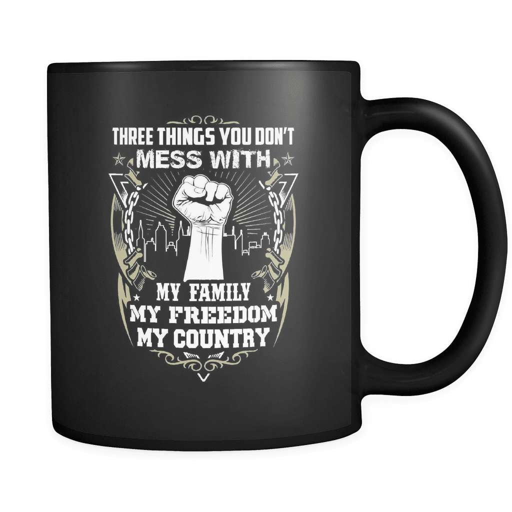 Don't Mess With My Country - Luxury Veteran Mug