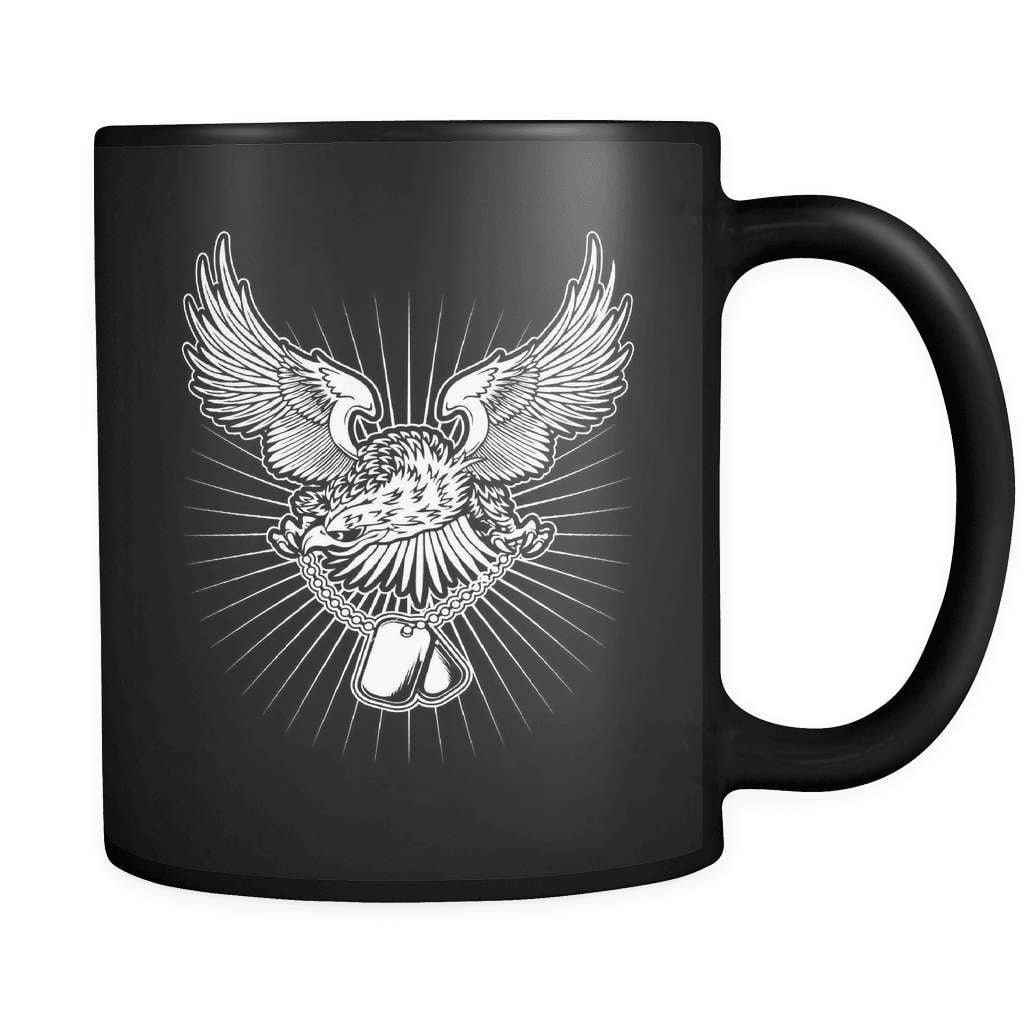 Veterans Eagle - Luxury Mug - snazzyshirtz.com