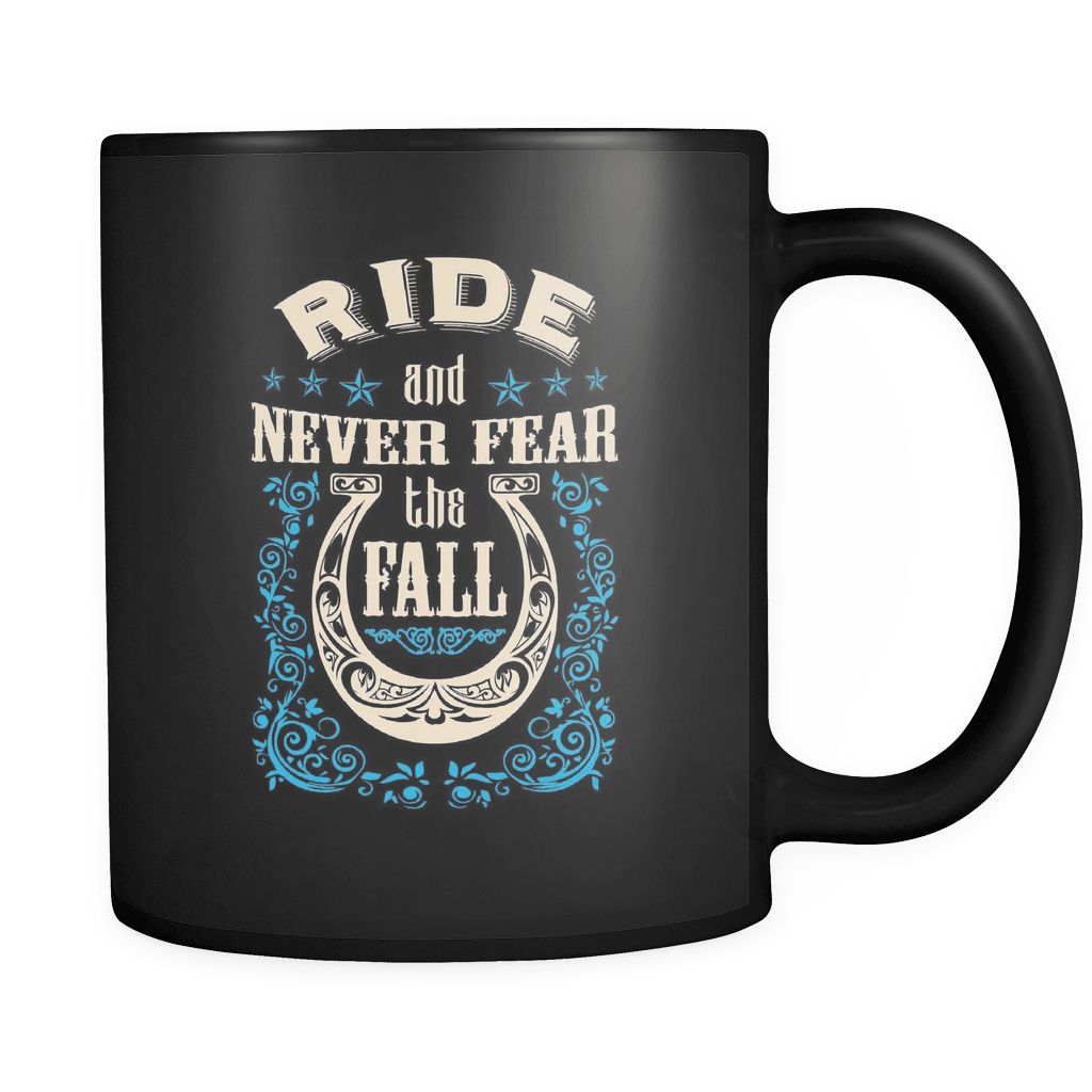 Never Fear The Fall - Luxury Horse Mug