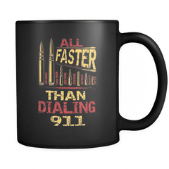 All Faster - Luxury Gun Mug