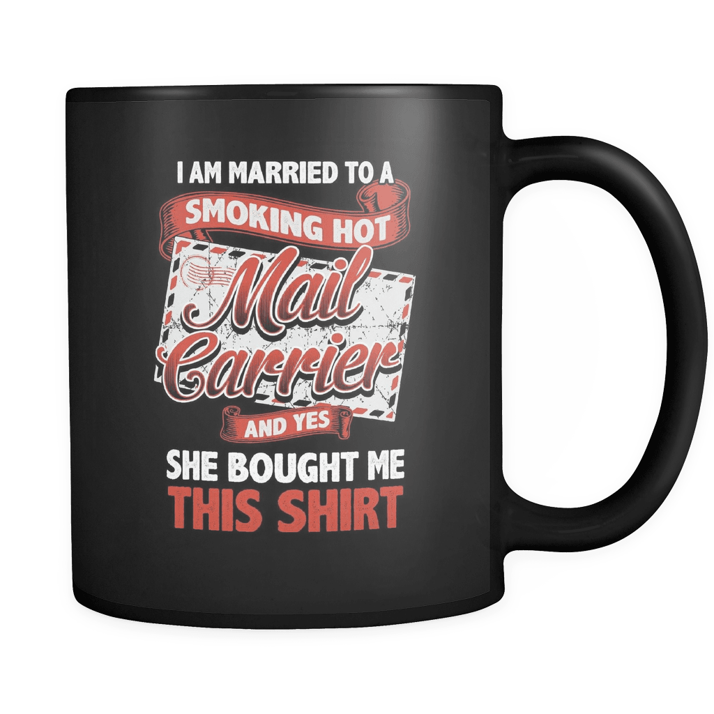 Smoking Hot Mail Carrier - Luxury Mug