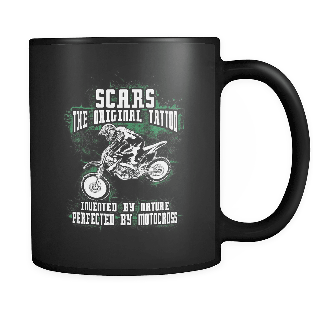 Scars The Original - Luxury Dirt Bike Mug