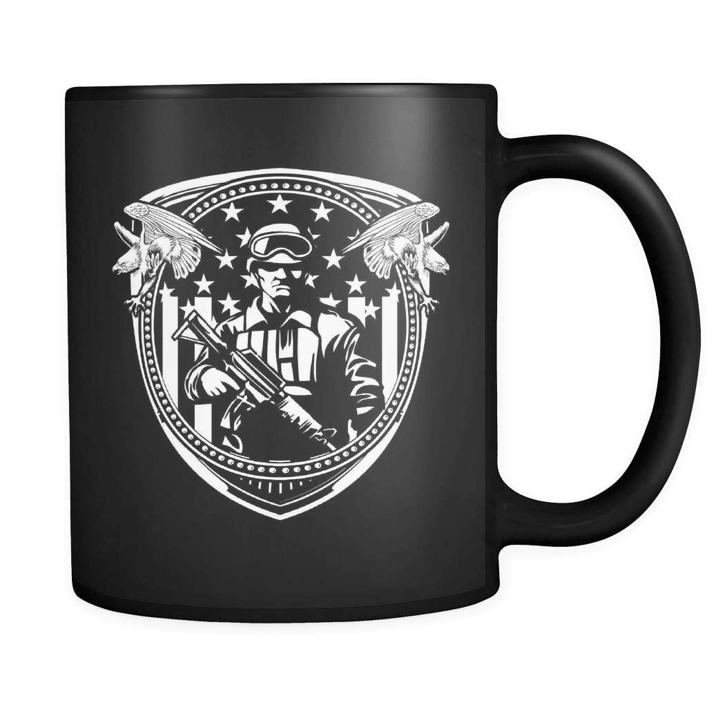 Soldier Crest - Luxury Veteran Mug