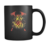 Forged By Fire - Luxury Firefighter Mug