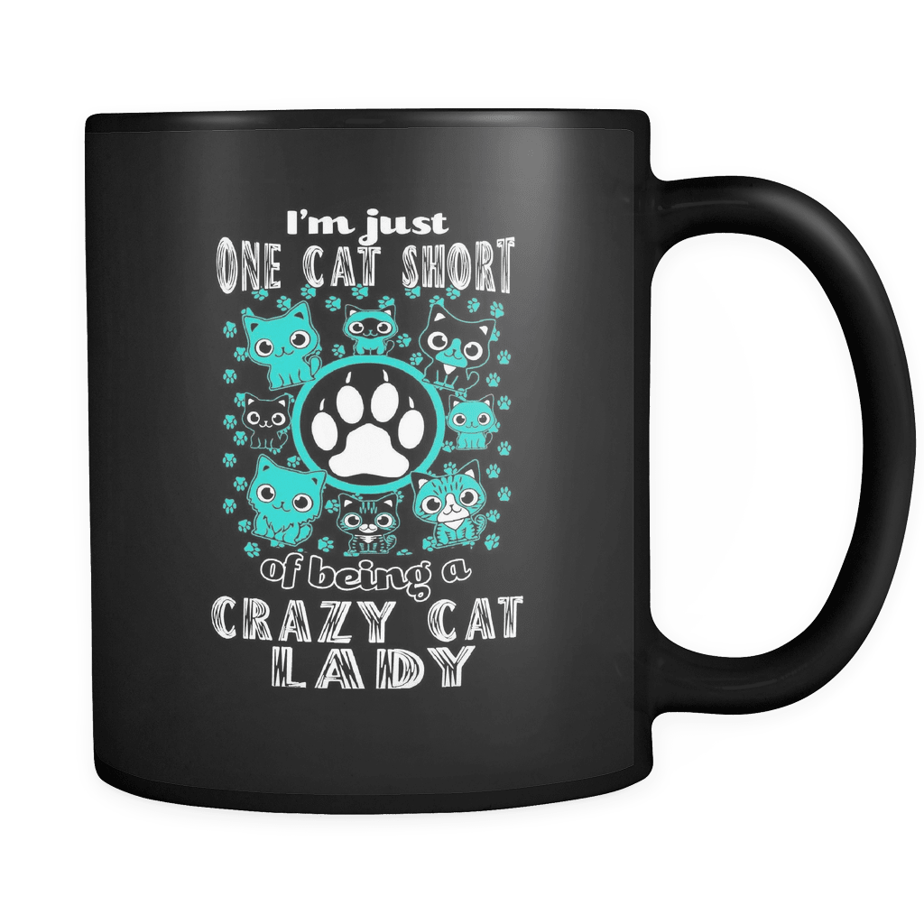 One Cat Short - Luxury Mug