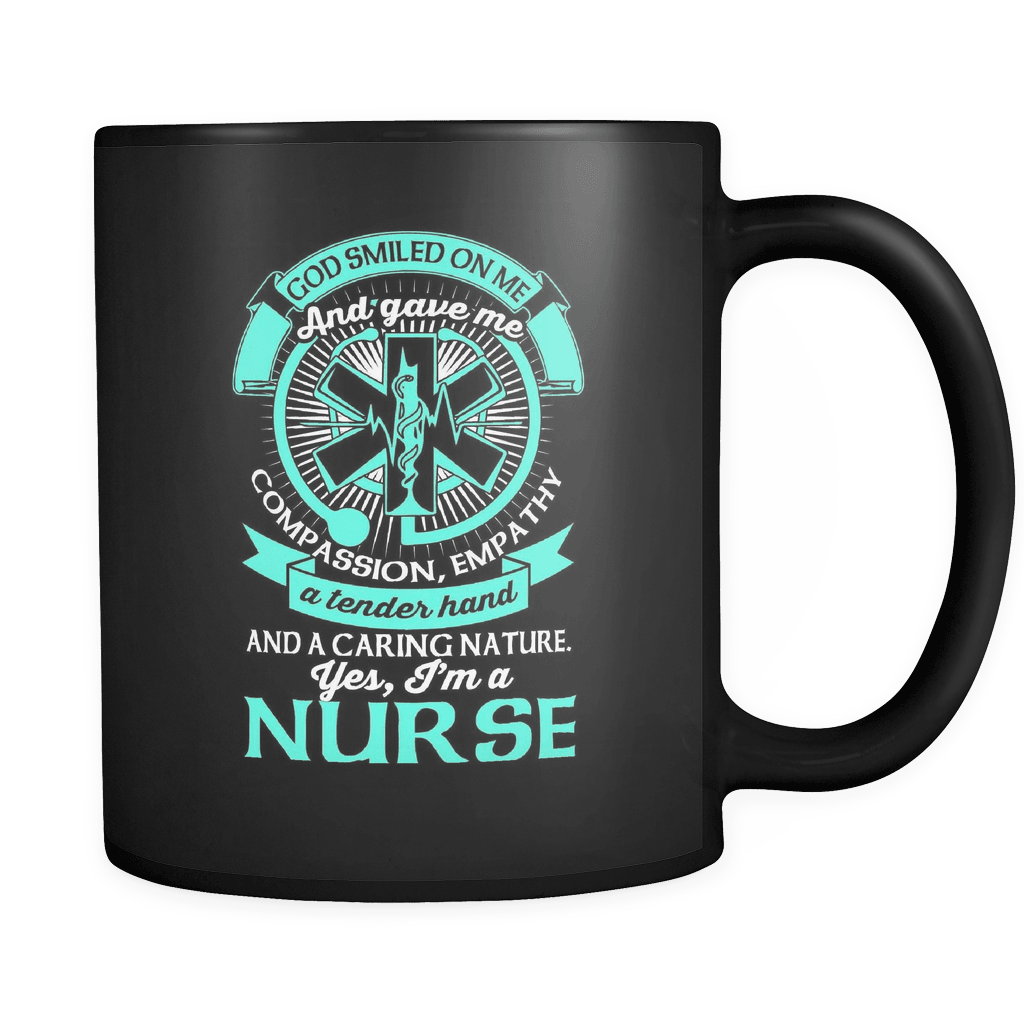 Yes, I'm A Nurse! - Luxury Mug