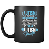 Autism Grandpa - Luxury Mug