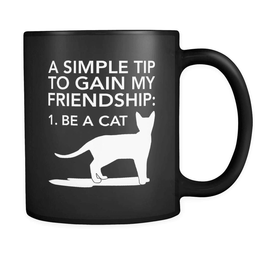 Simple Tip - Luxury Cat Mug - snazzyshirtz.com
