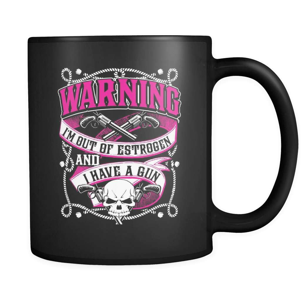 WARNING - Luxury Gun Mug